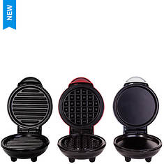 Dash Mini Makers Grill/Griddle/Waffle Set