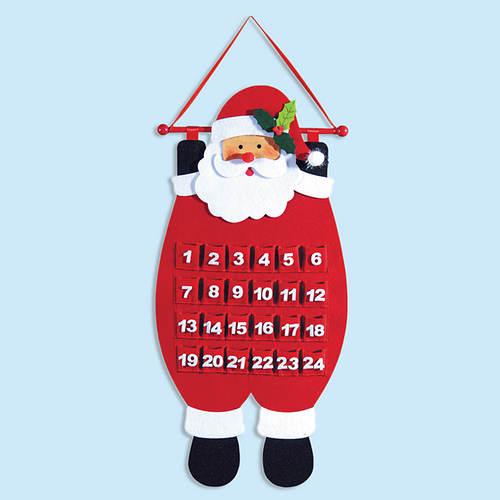 Santa Calendar