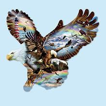 1000- Pc. Shaped Puzzle-Eagle