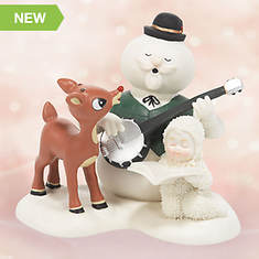 Snowbabies® Singing Silver and Gold