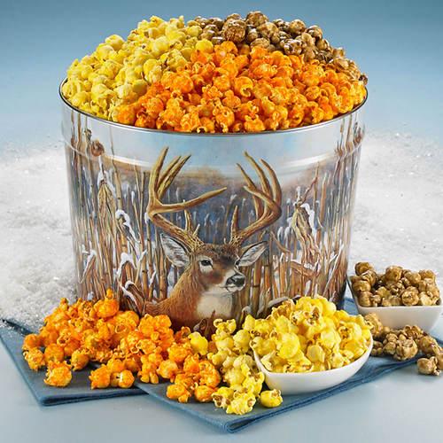 Gourmet Popcorn Deer Tin