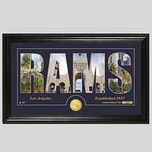 NFL Stadium Silhouette-Rams