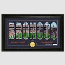 NFL Stadium Silhouette-Broncos