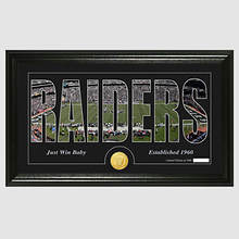NFL Stadium Silhouette-Raiders