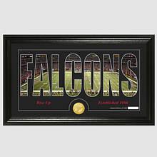 NFL Stadium Silhouette-Falcons