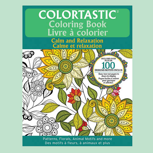 Colortastic Coloring Books with Pencils