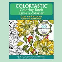 Colortastic Coloring Book-Flower