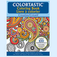 Colortastic Coloring Books-Paisley