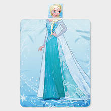 Character Pillow and Throw Set-Elsa