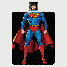 Character Pillow and Throw Set-Superman