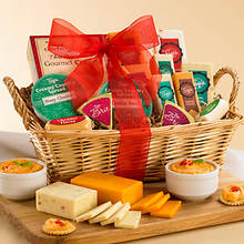 Bountiful Cheese Basket
