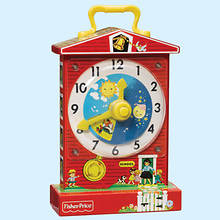 Fisher-Price Teaching Clock