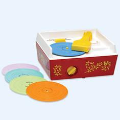 Fisher-Price Music Record Player