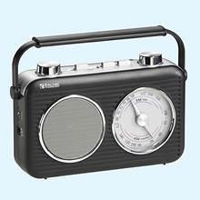 Encore Classic AM/FM Radio-Black