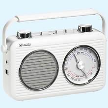 Encore Classic AM/FM Radio-White