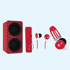 Naxa Entertainment Pack-Red