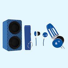 Naxa Entertainment Pack-Blue