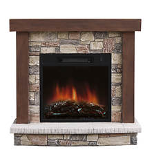 Stonegate Urban Mountain Lodge Fireplace