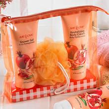 Ruby Pomegranate Bath Set