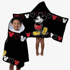 Hooded Character Towels-Mickey Mouse