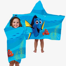 Hooded Character Towels-Dory
