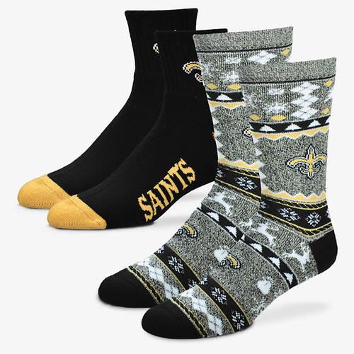 NFL 2-Pack Men's Socks