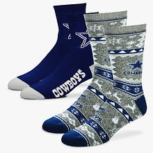 NFL 2-Pack Men's Socks-Cowboys