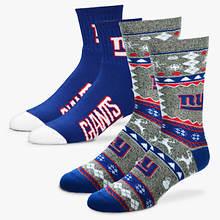 NFL 2-Pack Men's Socks-Giants
