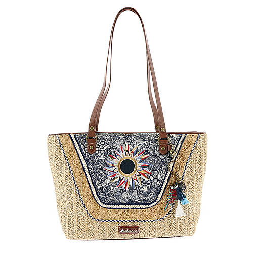 Sakroots Artist Circle Meadow Satchel