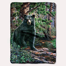 Hautman Brothers Wildlife Throws-Bear