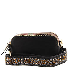 Steve Madden Women's Rhett Double Zip Camera Bag