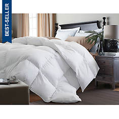 Blue Ridge 240 Thread Count Goose Down and Feather Comforter