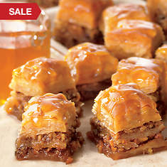 Honey Drenched Baklava Squares