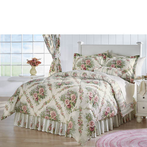 quilt quilts floral romantic french duvet cotton printed set f country chic shabby cover queen cottage girls sets sleep covers inspired canada bedding style