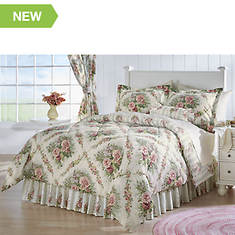 Cottage Rose 4-Piece Comforter Set