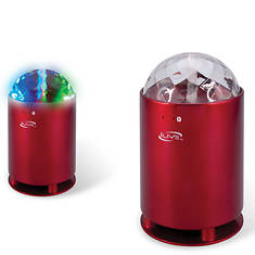 iLIVE Bluetooth Wireless Speaker with Dancing Lights