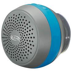 iLIVE Bluetooth Water-Resistant Shower Speaker
