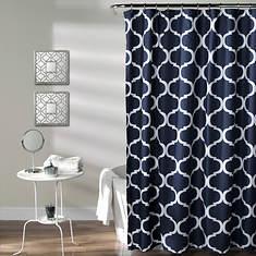 Lush Décor - Geo Shower Curtain