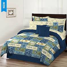 Inspiration Reversible Bed-in-a-Bag Set - Opened Item