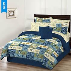 Inspiration Reversible Bed-in-a-Bag Set