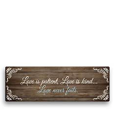 Love is Patient Canvas