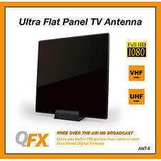 QFX Ultra-Flat Indoor Antenna
