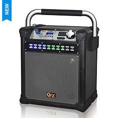 QFX Weatherproof AM/FM Speaker