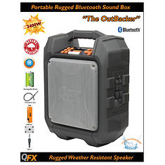 QFX Outbacker Portable Speaker