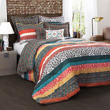 Lush Décor - Boho Stripe 7-Piece Comforter Set