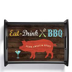 BBQ Serving Tray