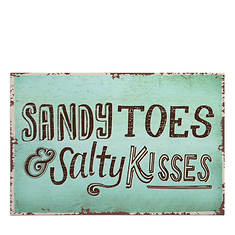 Sandy Toes Welcome Mat