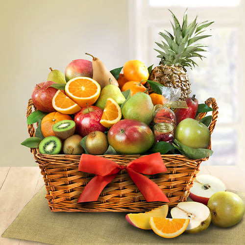 Tropical Fruit Gift Basket