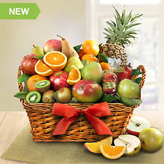 Tropical Fruit Gift Basket