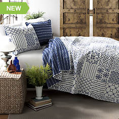 Lush Décor - Monique 3-Piece Quilt Set
